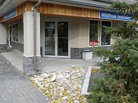 Entrance to Wildrose Dental Hygiene Centre